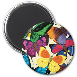 Butterflies of the World Magnet
