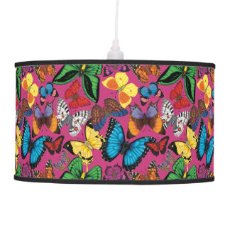 Butterflies of the World Pendant Lamp