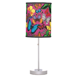 Butterflies of the World Table Lamp
