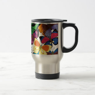 Butterflies of the World Travel Mug