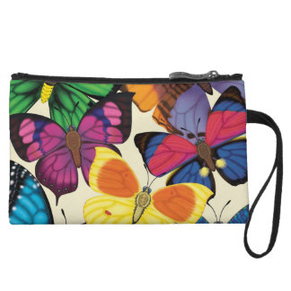 Butterflies of the World Wristlet Purses