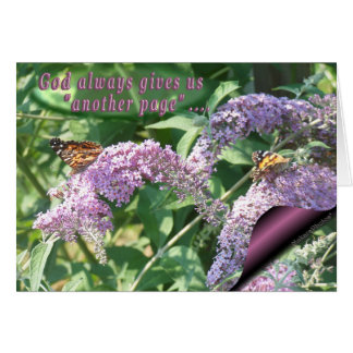 Butterflies on Lilac-page-customize Card