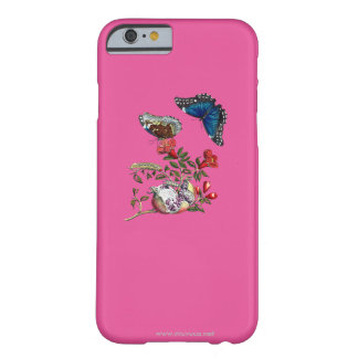 Butterflies on pomegranate barely there iPhone 6 case