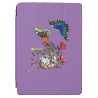 Butterflies on pomegranate iPad air cover