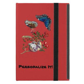 Butterflies on pomegranate iPad mini covers
