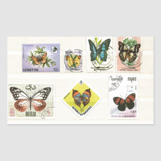 Butterflies on stamps 1