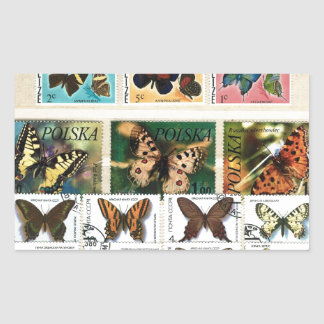 Butterflies on stamps 2