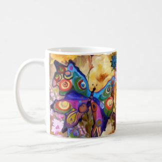 Butterflies on vacation coffee mug