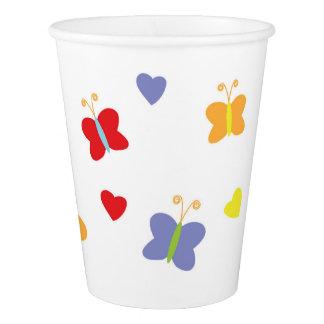 Butterflies Paper Cup