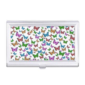 Butterflies Pattern Design Business Card Holder