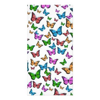 Butterflies Pattern Design Card