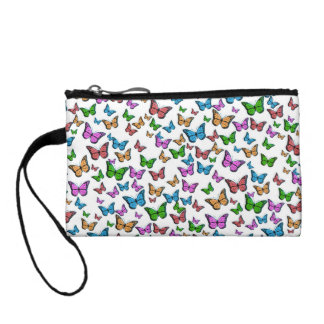 Butterflies Pattern Design Coin Purse