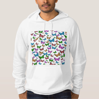 Butterflies Pattern Design Hoodie