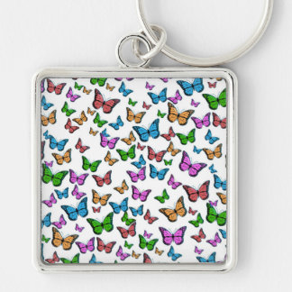 Butterflies Pattern Design Keychain