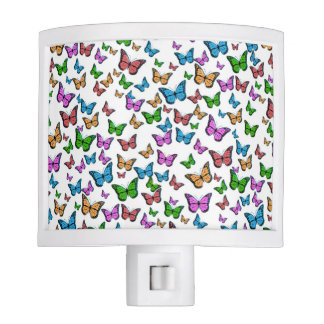 Butterflies Pattern Design Night Lites