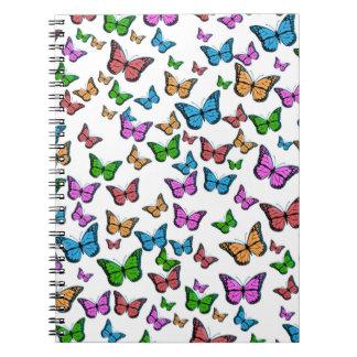 Butterflies Pattern Design Notebooks