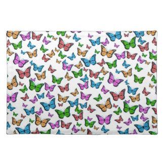 Butterflies Pattern Design Placemat