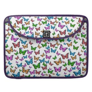Butterflies Pattern Design Sleeve For MacBooks