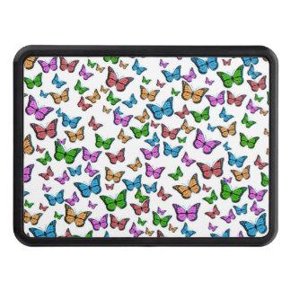 Butterflies Pattern Design Trailer Hitch Cover
