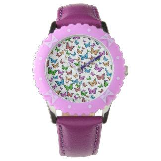 Butterflies Pattern Design Watch