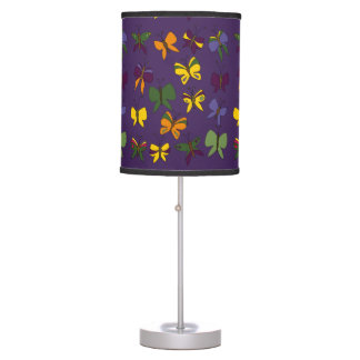 Butterflies Pattern Desk Lamp