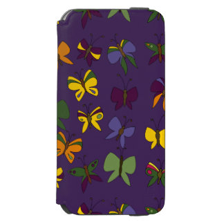 Butterflies Pattern Incipio Watson™ iPhone 6 Wallet Case
