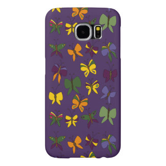 Butterflies Pattern Samsung Galaxy S6 Cases