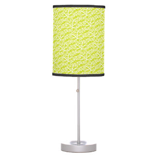 Butterflies pattern table lamp