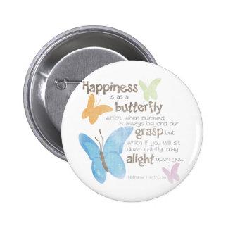 Butterflies Pinback Button