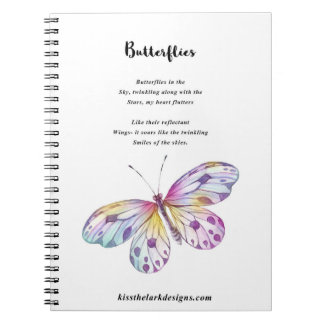 Butterflies - Poetry - Jessica Fuqua - Notebooks