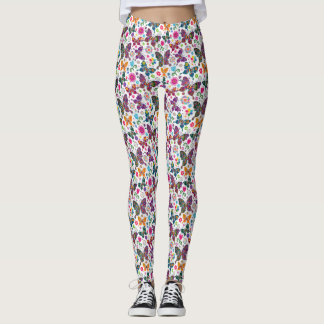 Butterflies Pop Fashion Leggings