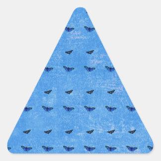 Butterflies print triangle sticker