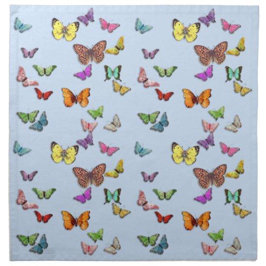 Butterflies Printed Napkins