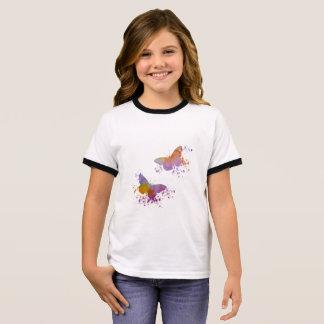 Butterflies Ringer T-Shirt