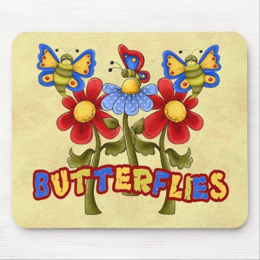 Butterflies - Schmetterlinge Mouse Pad