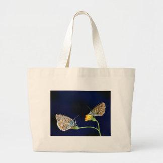 butterflies spring fling jumbo tote bag