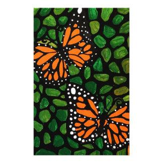 butterflies stationery