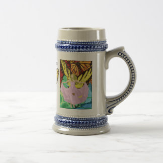Butterflies & Sunshine Beer Stein
