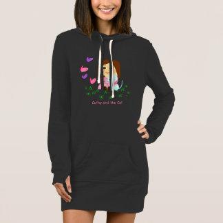 """""""Butterflies"""" sweater shirt dressed type"""