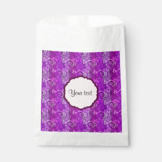 Butterflies & Swirls Favor Bag