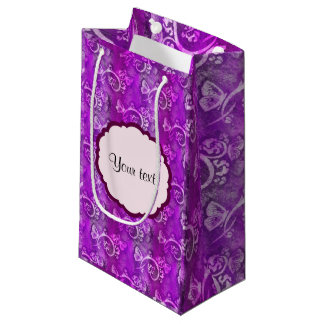 Butterflies & Swirls Small Gift Bag