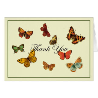 Butterflies Thank You Card
