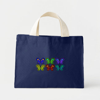 Butterflies Together Summer Mini Tote Bag