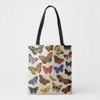 Butterflies Tote Bag All-Over Print