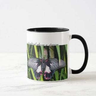 butterflies, Two butterflies went ou... Mug