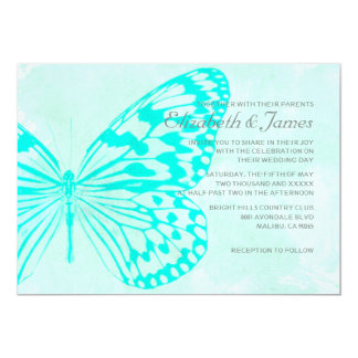 Butterflies Wedding Invitations