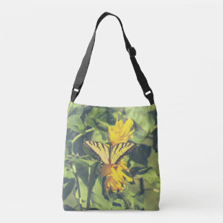 Butterflies Yellow Butterfly Cross Body Bag