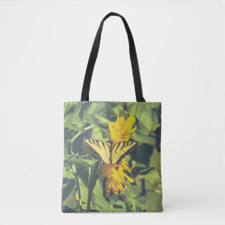 Butterflies Yellow Butterfly Tote Bag