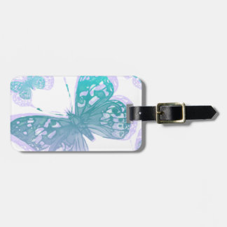 butterfly3 luggage tag