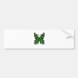 Butterfly 1 bumper sticker